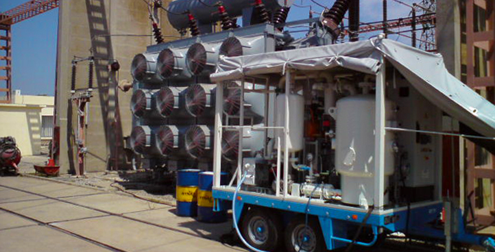 TREATMENT OF DIELECTRIC OILS